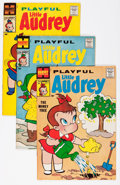 Silver Age (1956-1969):Humor, Playful Little Audrey File Copy Group (Harvey, 1958-68) Condition: Average VF/NM.... (Total: 60 Comic Books)