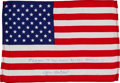 Transportation:Space Exploration, Apollo 14 Flown Larger-Size American Flag Directly from thePersonal Collection of Mission Lunar Module Pilot Edgar Mitchell,...