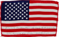 Transportation:Space Exploration, Apollo 14 Flown American Flag Directly from the Personal Collectionof Mission Lunar Module Pilot Edgar Mitchell, Signed and C...