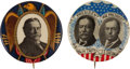 Political:Pinback Buttons (1896-present), William Howard Taft: Pair of Better Buttons.... (Total: 2 Items)