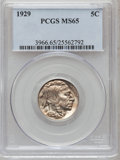 Buffalo Nickels: , 1929 5C MS65 PCGS. PCGS Population (540/153). NGC Census: (247/47).Mintage: 36,446,000. Numismedia Wsl. Price for problem ...