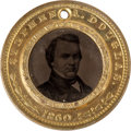 Political:Ferrotypes / Photo Badges (pre-1896), Douglas & Johnson: Pristine Ferrotype....