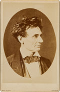 Political:Miscellaneous Political, Abraham Lincoln: Tousled Hair Portrait....