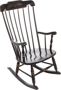 John F. Kennedy: The Last Rocking Chair He Ever Sat In, the Day Before His Tragic Assassination