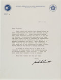 Autographs:Celebrities, Harrison Schmitt Typed Letter Signed with Seven Articles.... (Total: 9 Items)