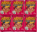 Memorabilia:MAD, Mad Idiotic Fruity Candy Sealed Box Group (Beserk Candy Werks/KraftFoods, 1993).... (Total: 6 Items)