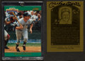 Baseball Cards:Autographs, Mickey Mantle Signed Cards Lot of 2....