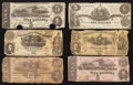 Confederate Notes:Group Lots, Fascinating United States Treasury Department ConfederateGrouping.. ... (Total: 12 items)