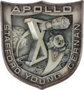 Transportation:Space Exploration, Apollo 10 Flown Silver Robbins Medallion Directly from the Personal Collection of Astronaut Rusty Schweickart, Serial Number 7...