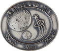 Transportation:Space Exploration, Apollo 14 Flown Silver Robbins Medallion Directly from the Personal Collection of Astronaut Rusty Schweickart, Serial Number 1...
