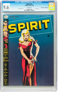The Spirit #22 Mile High pedigree (Quality, 1950) CGC NM+ 9.6 White pages