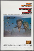 """Movie Posters:Crime, Thunderbolt and Lightfoot (United Artists, 1974). One Sheet (27"""" X41""""). Style B. Flat Folded. Crime.. ..."""