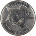 Transportation:Space Exploration, Skylab I (SL-2) Flown Silver Robbins Medallion Directly from the Personal Collection of Backup Mission Commander Rusty Schweic...