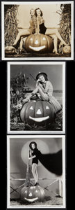 "Movie Posters:Sexploitation, Halloween Pin-Up Lot (Universal, 1939-1940). Pinup Photos (3) (8"" X10""). Sexploitation.. ... (Total: 3 Items)"