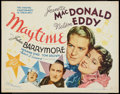 """Movie Posters:Musical, Maytime (MGM, R-1962). Half Sheet (22"""" X 28""""). Musical.. ..."""