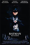 "Movie Posters:Action, Batman Returns and Other Lot (Warner Brothers, 1992). One Sheets(2) (27"" X 40"") SS, Regular and Advance. Action.. ... (Total: 2Items)"