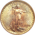 Saint-Gaudens Double Eagles, 1922 $20 MS66 PCGS Secure. CAC....