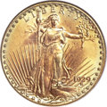 Saint-Gaudens Double Eagles, 1929 $20 MS66 PCGS Secure....