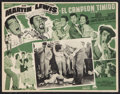 """Movie Posters:Sports, The Caddy (Paramount, 1953). Mexican Lobby Card (12.5"""" X 16.25""""). Sports.. ..."""