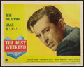 "Movie Posters:Academy Award Winners, The Lost Weekend (Paramount, 1945). Lobby Card (11"" X 14""). AcademyAward Winners.. ..."