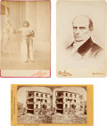 Photography:Cabinet Photos, Cabinet Cards: Sarah Bernhardt and Friends.... (Total: 3 Items)