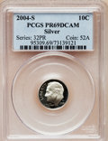 Proof Roosevelt Dimes, 2004-S 10C Silver PR69 Deep Cameo PCGS. PCGS Population (3680/405).Numismedia Wsl. Price for problem f...