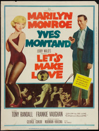 """Let's Make Love (20th Century Fox, 1960). Poster (30"""" X 40""""). Comedy"""