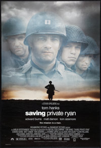 """Saving Private Ryan (Paramount, 1998). One Sheets (2) (27"""" X 40""""). DS Advance and Regular Style. War. ... (Tot..."""