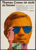 "Movie Posters:Crime, The Thomas Crown Affair (United Artists, 1968). German A1 (23.5"" X 33""). Crime.. ..."