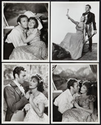 """Jeanette MacDonald and Allan Jones in The Firefly by Clarence S. Bull (MGM, 1937). Photos (4) (8"""" X 10""""). Musi..."""
