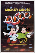 "Movie Posters:Animated, Mickey Mouse Disco and Other Lot (Buena Vista, 1980). One Sheets(2) (27"" X 41"" and 27"" X 40). Animated.. ... (Total: 2 Items)"