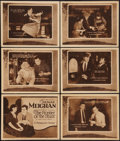 """Movie Posters:Crime, The Frontier of the Stars (Paramount, 1921). Title Lobby Card &Lobby Cards (5) (11"""" X 14""""). Crime.. ... (Total: 6 Items)"""