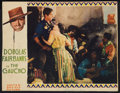 "Movie Posters:Adventure, The Gaucho (United Artists, 1927). Lobby Card (10"" X 13"").Adventure.. ..."