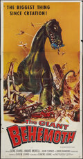 """Movie Posters:Science Fiction, The Giant Behemoth (Allied Artists, 1959). Three Sheet (41"""" X 81""""). Science Fiction.. ..."""