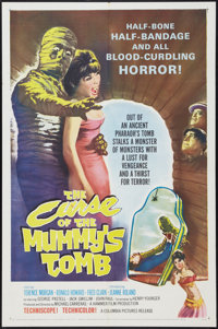 """The Curse of the Mummy's Tomb (Columbia, 1964). One Sheet (27"""" X 41""""). Horror"""