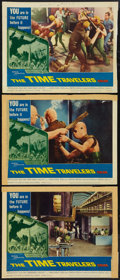 "Movie Posters:Science Fiction, The Time Travelers (American International, 1964). Lobby Cards (3) (11"" X 14""). Science Fiction.. ... (Total: 3 Items)"