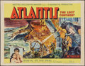 "Movie Posters:Adventure, Atlantis, the Lost Continent (MGM, 1961). Half Sheet (22"" X 28"").Adventure.. ..."