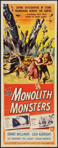 """Movie Posters:Science Fiction, The Monolith Monsters (Universal International, 1957). Insert (14"""" X 36""""). Science Fiction.. ..."""