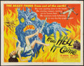 """Movie Posters:Horror, From Hell It Came (Allied Artists, 1957). Half Sheet (22"""" X 28""""). Horror.. ..."""