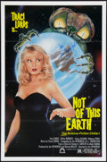 "Movie Posters:Science Fiction, Not of this Earth (Concorde/Trinity, 1988). Autographed One Sheet(27"" X 41""). Science Fiction.. ..."
