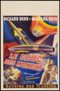 """Movie Posters:Science Fiction, When Worlds Collide (Paramount, 1951). Belgian (14"""" X 21.5"""").Science Fiction.. ..."""