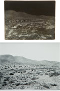 Western Expansion:Goldrush, [California Gold Mining] Randsburg - Spring of 1897 - Glass PlateNegative....