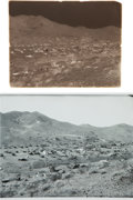 Western Expansion:Goldrush, [California Gold Mining] Randsburg Bird's Eye View - Glass PlateNegative....