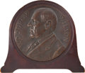 Political:3D & Other Display (1896-present), Woodrow Wilson: Morgan U. S. Mint Medal Galvano....