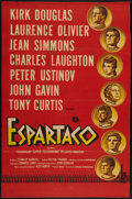 "Movie Posters:Action, Spartacus (Universal International, 1960). Argentinean Poster (27"" X 41""). Action.. ..."