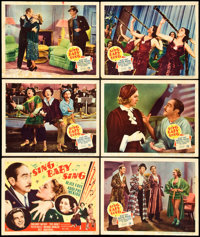 "Sing, Baby, Sing (20th Century Fox, 1936). Title Lobby Card and Lobby Cards (5) (11"" X 14""). Musical. ... (Tot..."