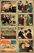 """Movie Posters:Comedy, Transatlantic Merry-Go-Round (United Artists, 1934). Lobby Card Set of 8 (11"""" X 14""""). Comedy.. ... (Total: 8 Items)"""