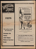 """Movie Posters:Musical, Fiesta (MGM, 1947). Uncut Pressbook (14 Pages, 11"""" X 14.75"""" ). Musical.. ..."""