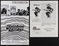 """Movie Posters:Rock and Roll, Jimi Hendrix Lot (Various, 1972 and 1973). Uncut Pressbooks (6Pages, 11"""" X 17"""" and 11 X 14""""). Rock and Roll.. ... (Total: 2Items)"""
