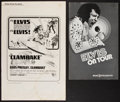 """Movie Posters:Elvis Presley, Elvis Presley Lot (United Artists & MGM, 1967 and 1972).Pressbooks (2) (8 and 12 Pages, 8.5"""" X 13"""" and 11"""" X 17"""" ). Elvis... (Total: 2 Items)"""